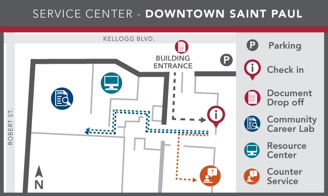 Image of Ramsey County Service Center - Downtown Saint Paul layout