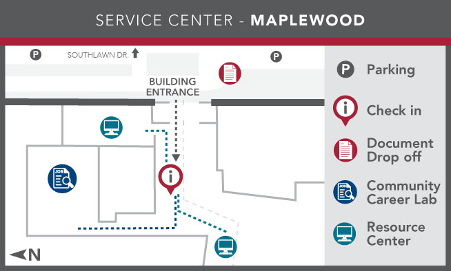 Image of Ramsey County Service Center - Maplewood layout