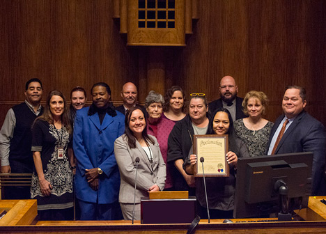 Proclamation for licensed foster care providers