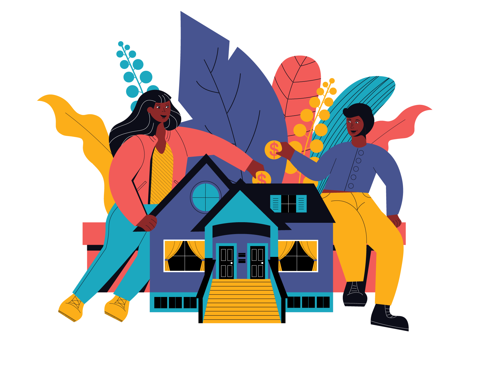 Ensure place-based inclusion, create resilient and equitable communities illustration