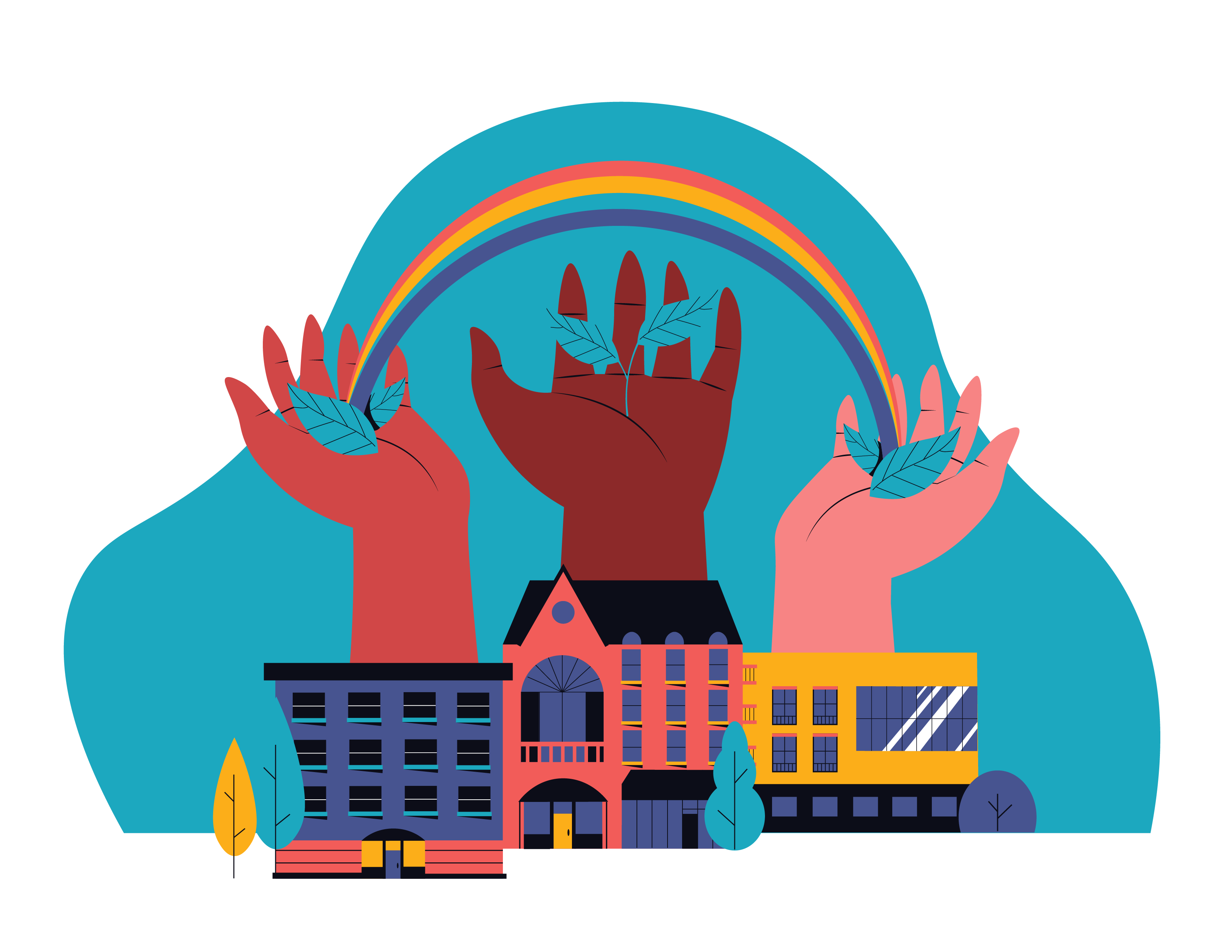 Ensure place-based inclusion and create resilient and equitable communities illustration