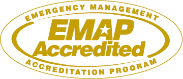 Emergency Management Accreditation Program (EMAP) certification seal