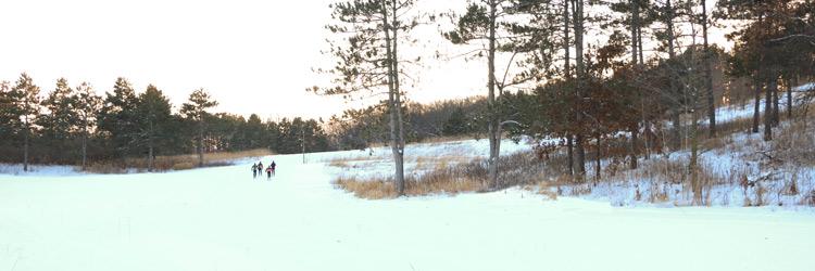Battle Creek Regional Park ski trails