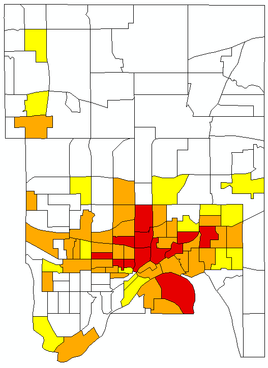 Areas Of Concentrated Poverty Map 2013