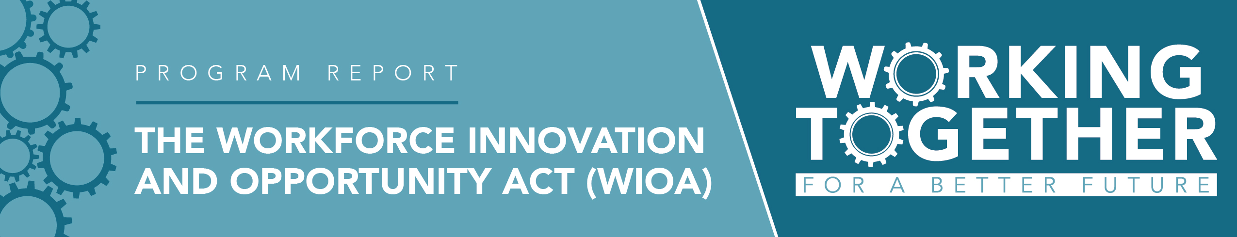 The Workforce Innovation & Opportunity Act (WIOA)