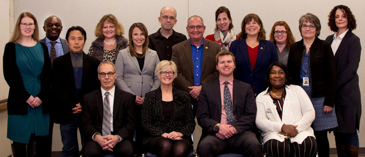Workforce Innovation Board of Ramsey County 2018 group photo.