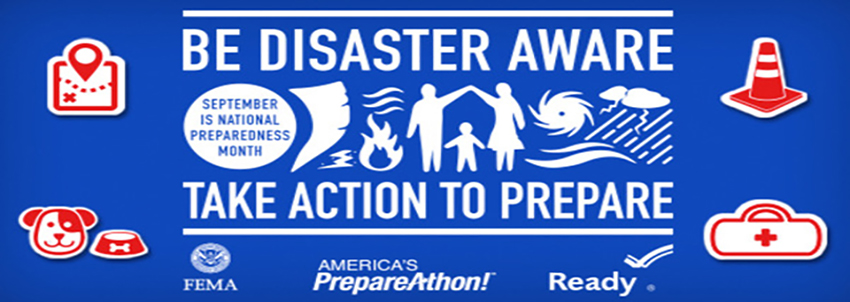 National Preparedness Month Banner