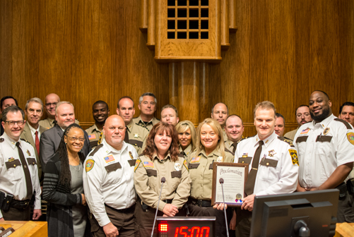 2017 Correctional Officers Week proclamation