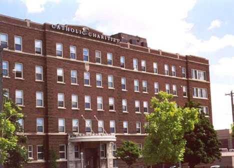 Mary Hall building in downtown Saint Paul