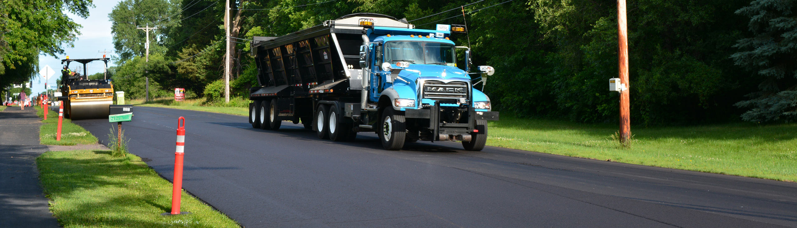 Public Works is resurfacing about 15 miles of county roads in 2017.