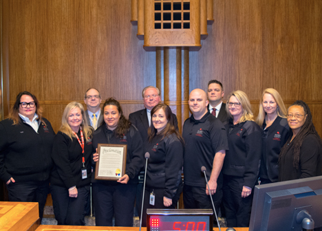 Public Safety Telecommunicators Week proclamation 2017
