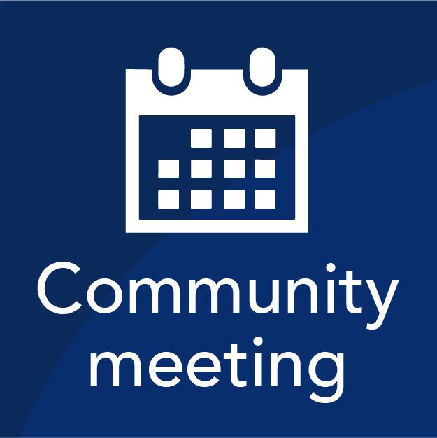 Community Meeting Icon Image