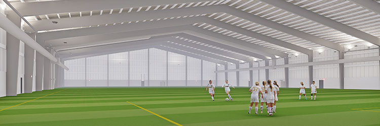 Rendering of new TCO Fieldhouse