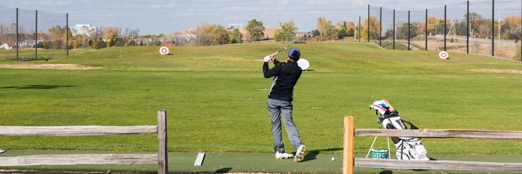 Driving range at The Ponds at Battle Creek