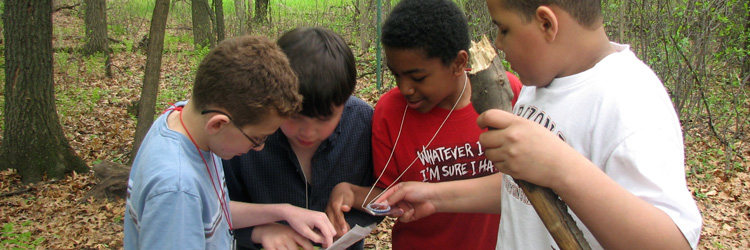 Orienteering at Tamarack Nature Center