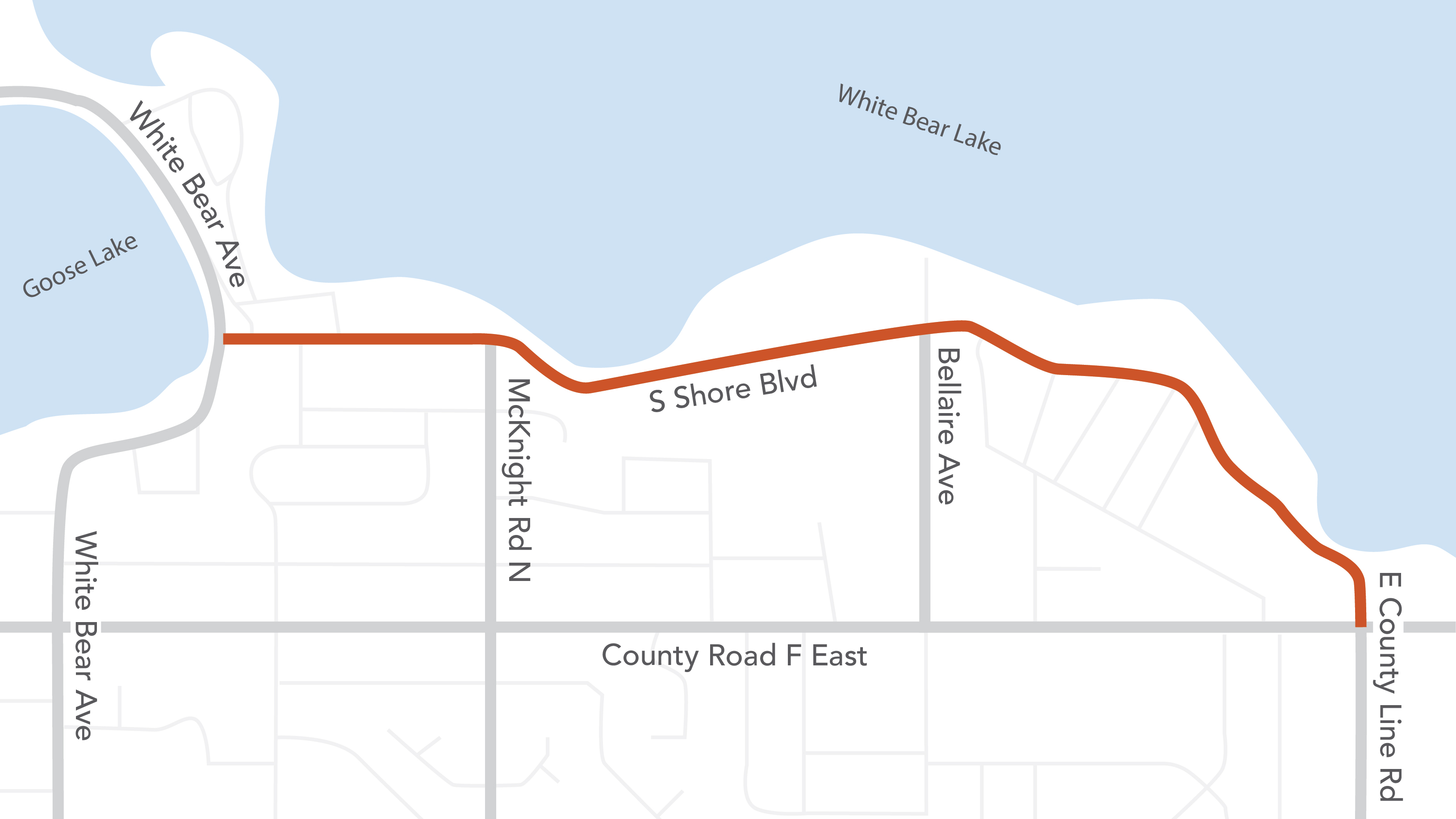 Proposed Lake Links Trail Extension