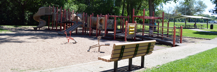 Playground at Lake Owasso County Park