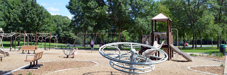 Playground at Long Lake Regional Park