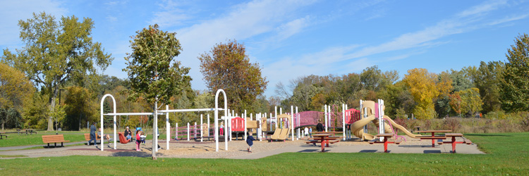 Playground at White Bear Lake County Park