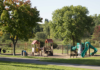 Playground at Battle Creek Regional Park