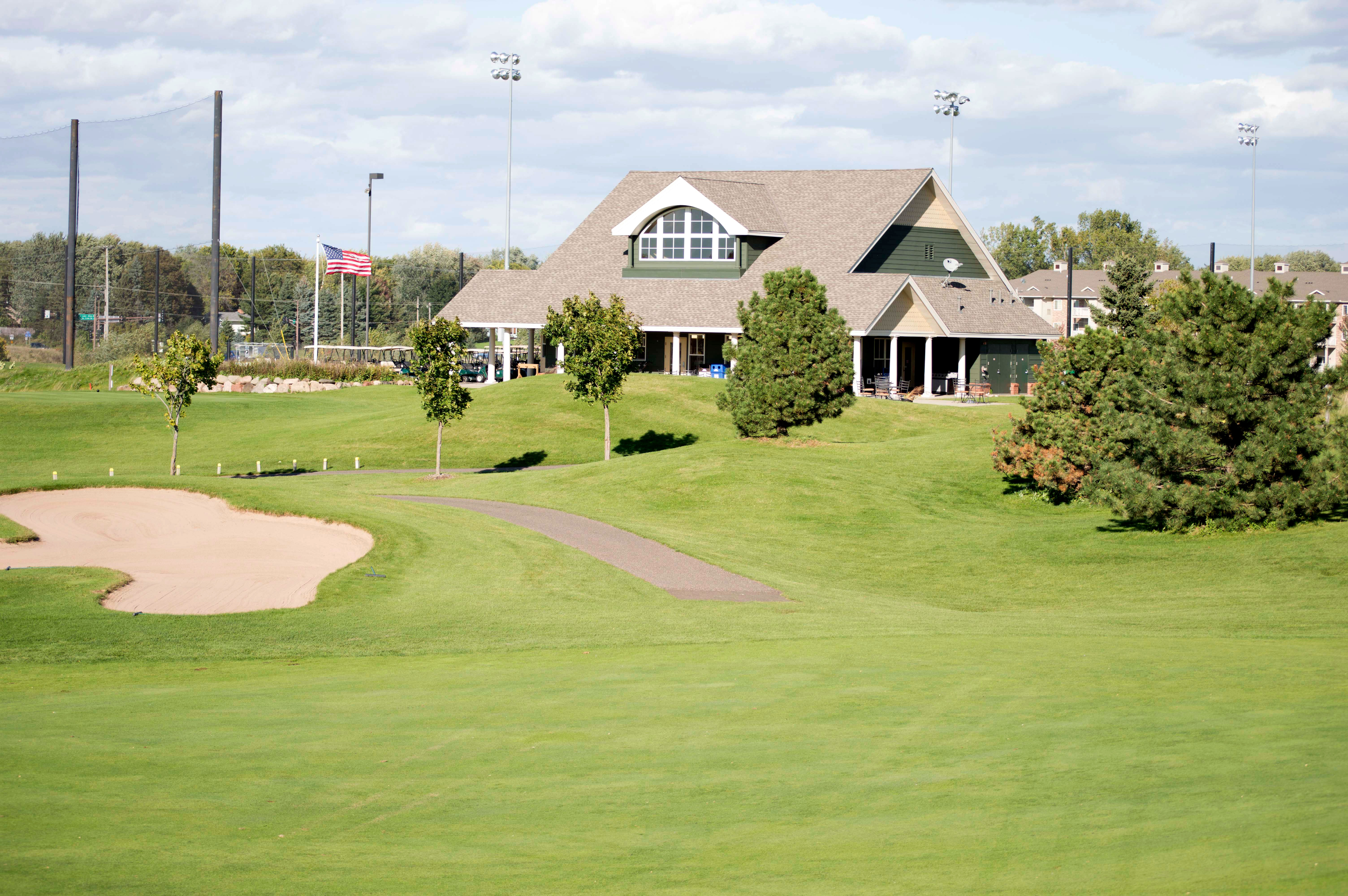 Clubhouse at The Ponds at Battle Creek golf course