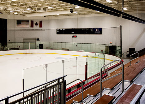 Rink at TCO Sports Garden