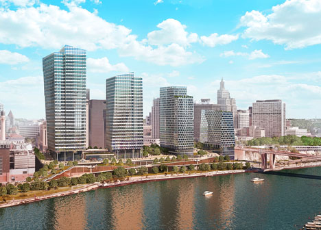 Rendering of Riversedge development