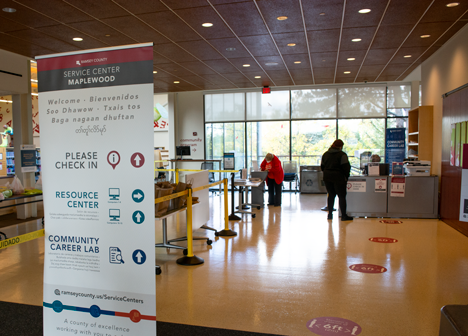Service Center at Ramsey County Library - Maplewood