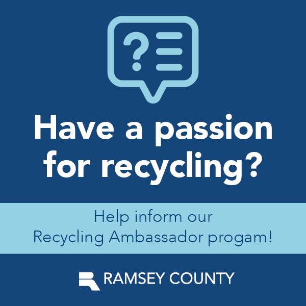 Help inform our Recycling Ambassador program