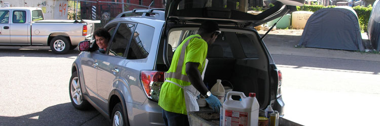 Household Hazardous Waste Mobile Collection Site