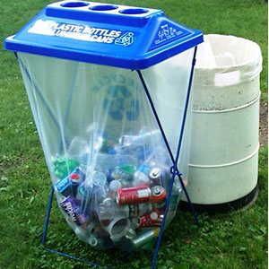 standard recycling container
