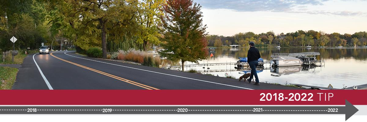 Transportation Improvement Program header image, including Keller Parkway.