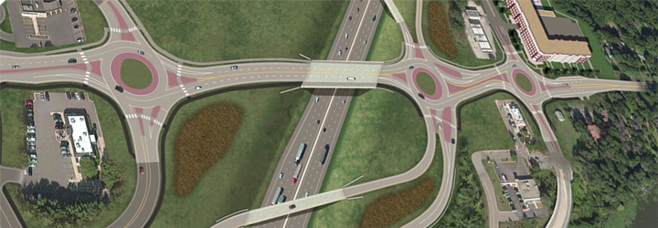 I-694/Rice Street Interchange proposed design