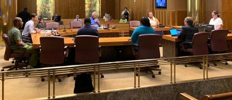 TST presentation at June 16 board meeting