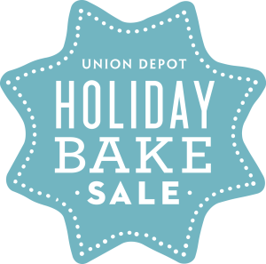 Union Depot Holiday Bake Sale