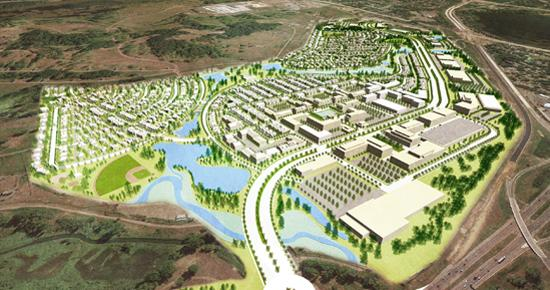 Rice Creek Commons artist rendering