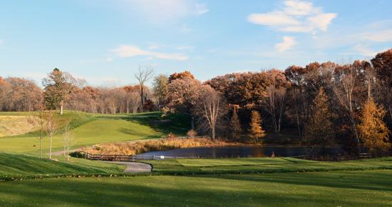 Keller Golf Course in fall
