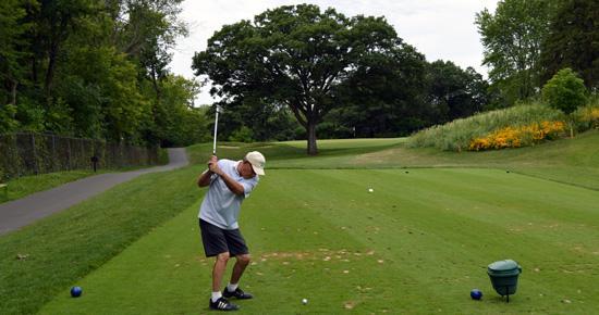 Keller Golf Course, Hole 4