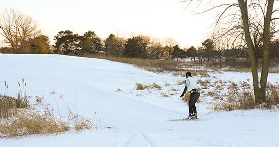 Battle Creek Cross Country Skiing