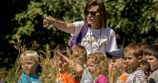 Day camp at Tamarack Nature Center