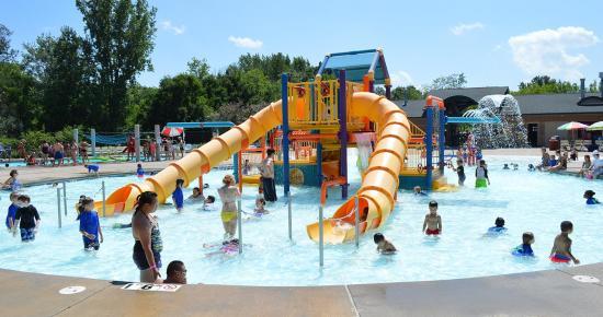 Battle Creek Waterworks play area