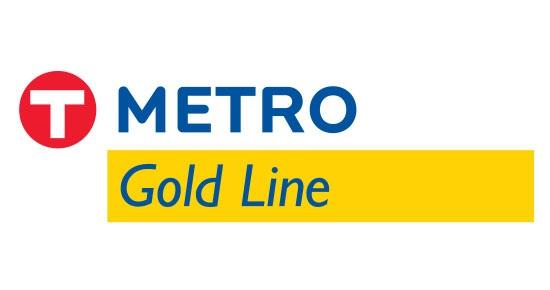 metro gold line logo