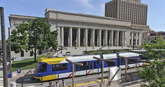 Union Depot and Green Line