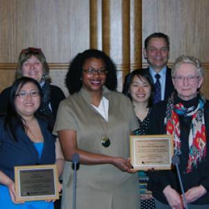 2015 Public Health Award winners