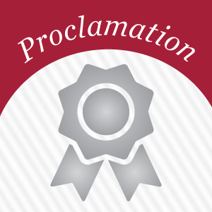 Proclamation Seal