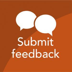 Submit feedback thumbnail