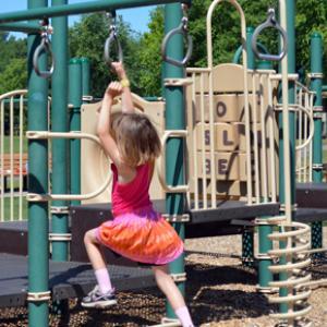 Playground at Snail Lake