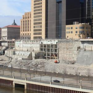 Riverfront Properties deconstruction as of March 22, 2017