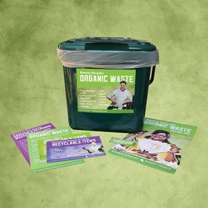 Organics recycling starter kit