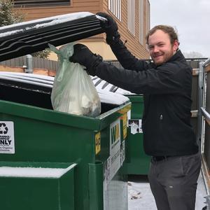 Food scraps collection (organics recycling) drop off